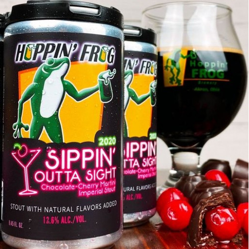 Hoppin Frog Sippin Outta Sight 2020 pusz. 248ml
