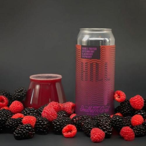 Double Fruited Boysenberry Blackberry Raspberry Hill 473ml