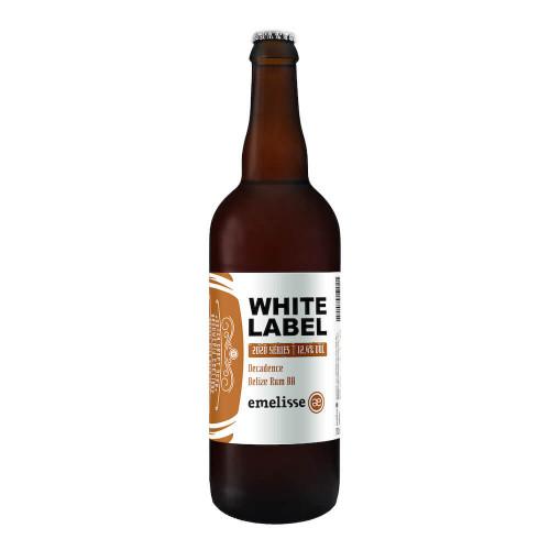 White Label 2020 004 Decadence Belize Rum BA 2020 330ml