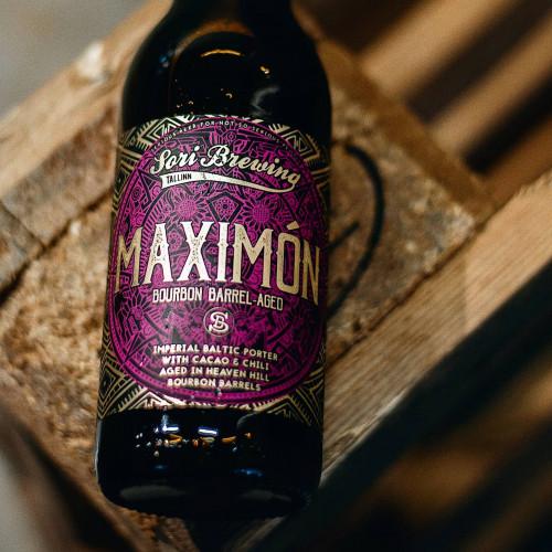 Maximon Bourbon BA 330ml