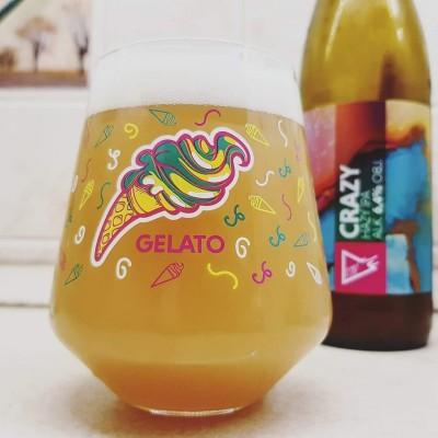 """Funky Fluid Glass """"Gelato"""" 300ml"""