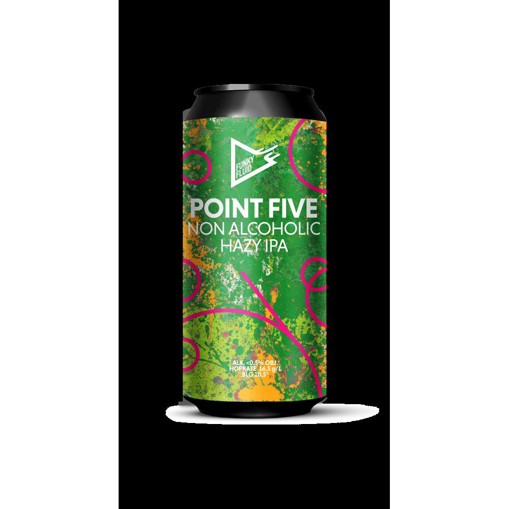 Point Five Hazy IPA 500ml