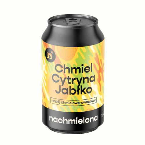 Nachmielona Hops + Lemon + Apple 330ml