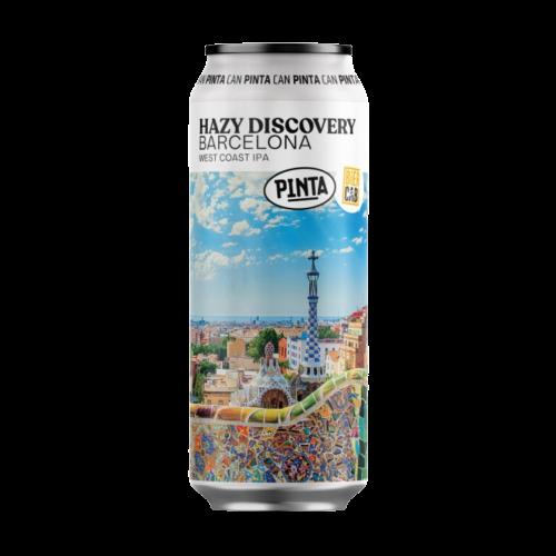 Hazy Discovery: Barcelona 500ml