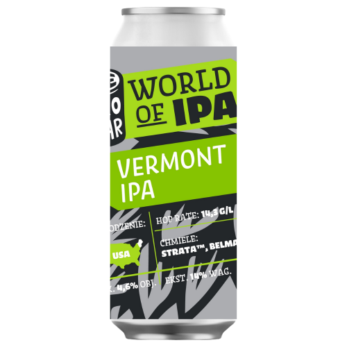 World of IPA: Vermont IPA 500ml
