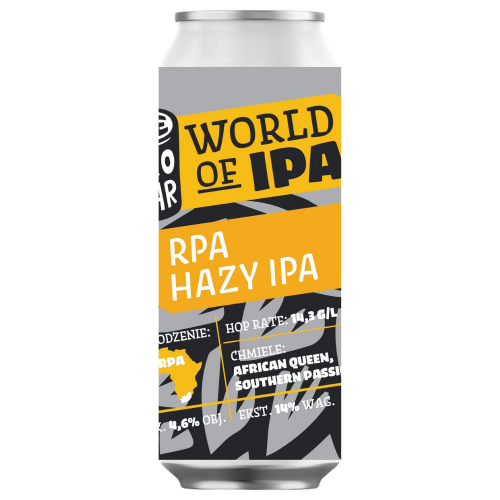 World of IPA: RPA Hazy IPA 500ml