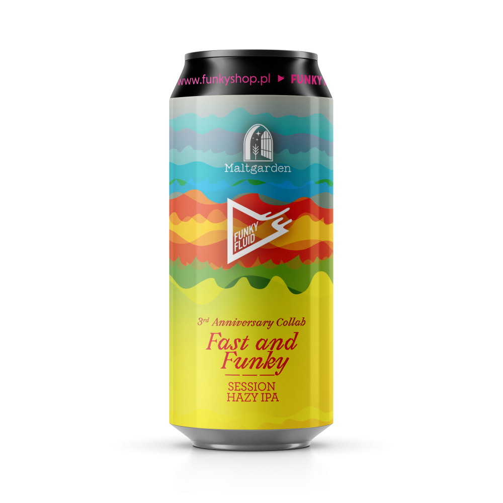 Fast & Funky (3rd Anniversary Collab) 500ml