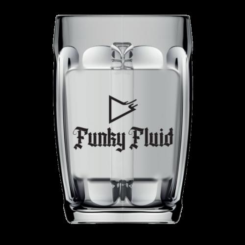 """Funky Fluid Glass """"Mug"""""""