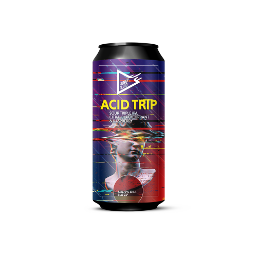 Acid Trip: Citra, Blackcurrant & Raspberry 500ml