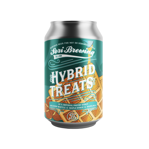 Hybrid Treats vol.2 Belgian Waffle 330ml