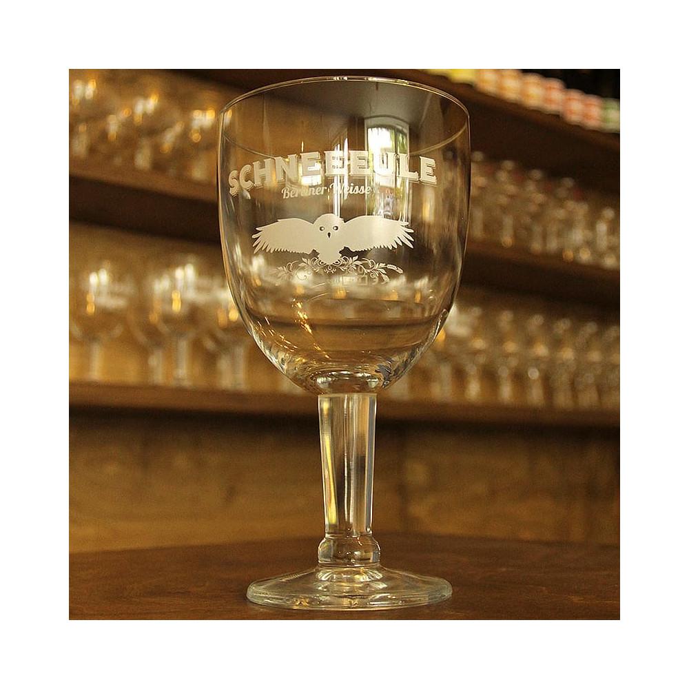 "Schneeeule Glass ""gobelet"""