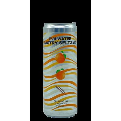 Evil Water Clementine, Mandarin, Vanilla 355ml