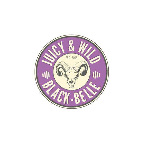 Juicy & Wild: Black-Belle 750ml