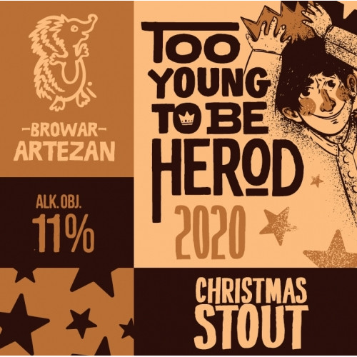 Too Young To Be Herod 2020 500ml