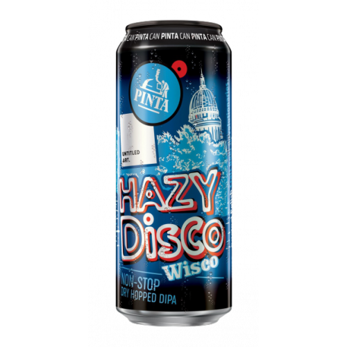Hazy Disco: Wisco 500ml