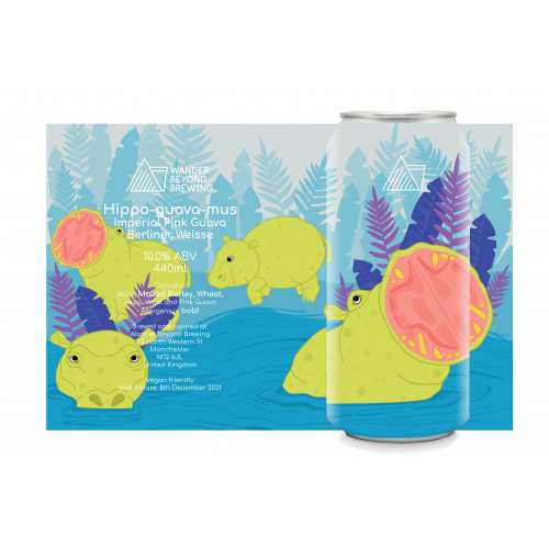 Hippo-guava-mus 440ml