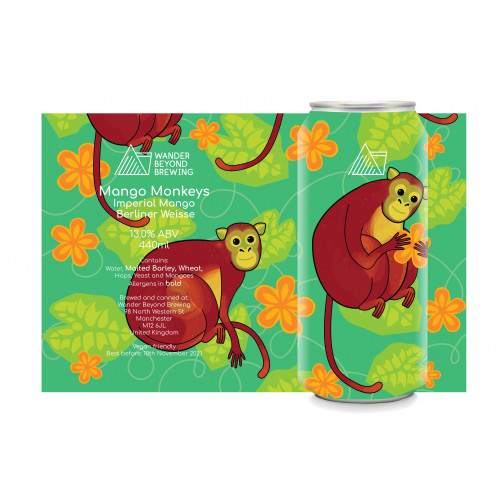 Mango Monkeys 440ml