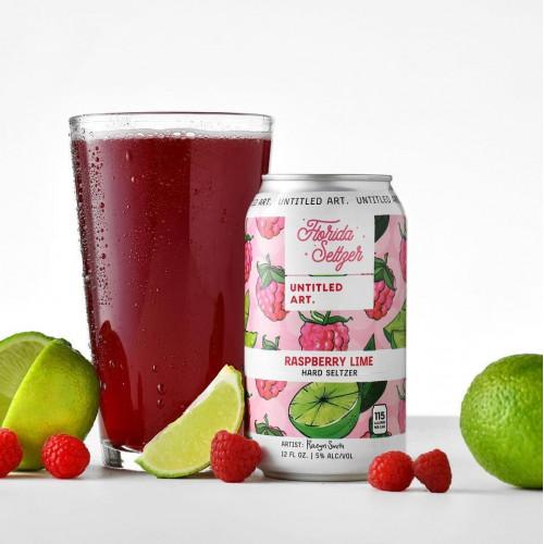 Florida Seltzer: Raspberry Lime 355ml