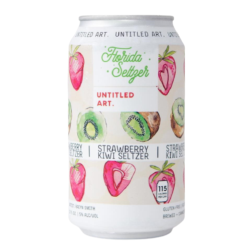 Florida Seltzer: Strawberry Kiwi 355ml